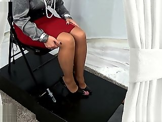 Cock Crush ⁄ Shoejob.., bondage