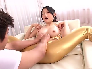 Exotic Japanese chick.., big tits