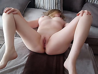 Naked Debbie plays with.., amateur