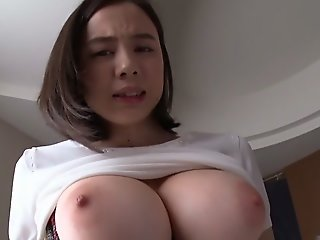 Amazing Japanese chick.., big tits