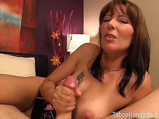 Mother's Day seduction.., handjob